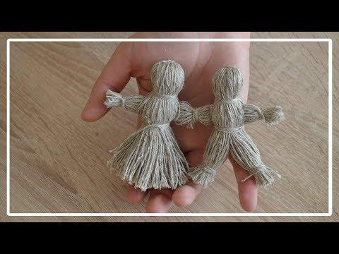Куклы неразлучники своими руками.