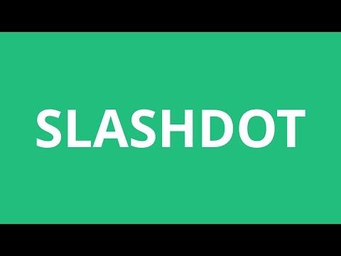How To Pronounce Slashdot - Pronunciation Academy