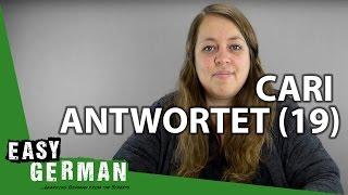 Cari Antwortet (19) - LGBT in Deutschland | Begrüßungen | Welche Fremdsprachen lernen Deutsche?