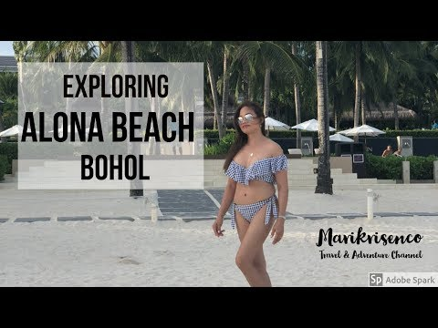 Exploring Alona Beach Bohol Philippines
