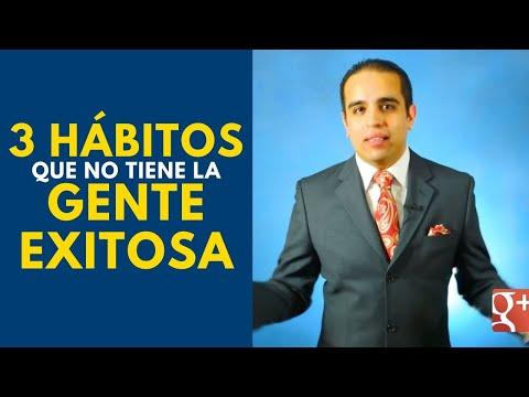 3 hábitos que no tiene la gente exitosa. Curso de ventas con Carlos Flores