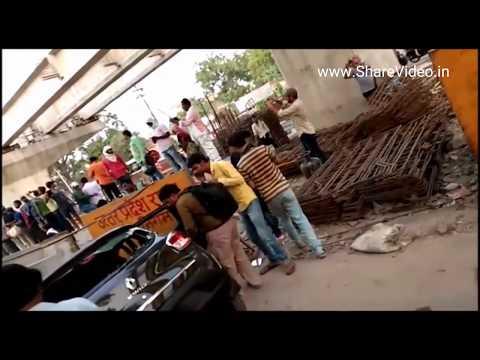 Varanasi Bridge Collapse Accident Live Latest Video News