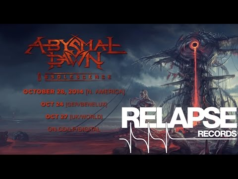 """ABYSMAL DAWN - """"Inanimate"""" Official Track"""