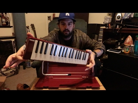 Yamaha P37D Pianica Melodica Unboxing And First Try