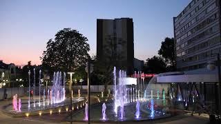 Новый фонтан в Бресте танцует под классическую музыку