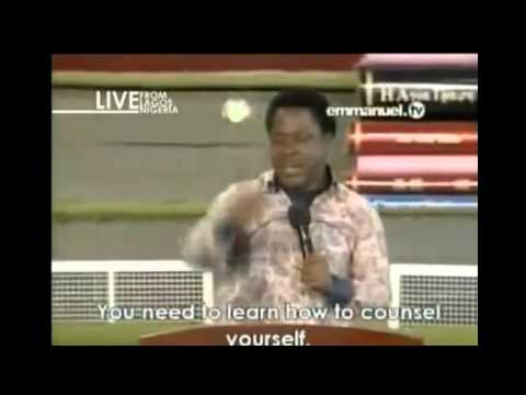 Learn To Counsel Yourself by TB Joshua