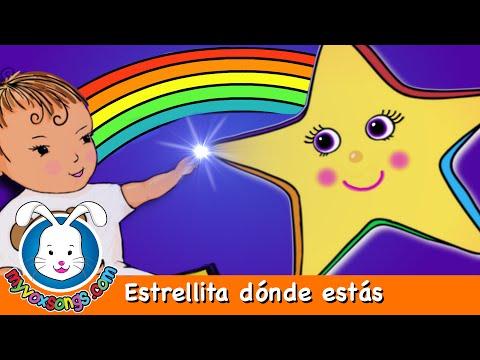 Estrellita dónde estás | música para niños con letras