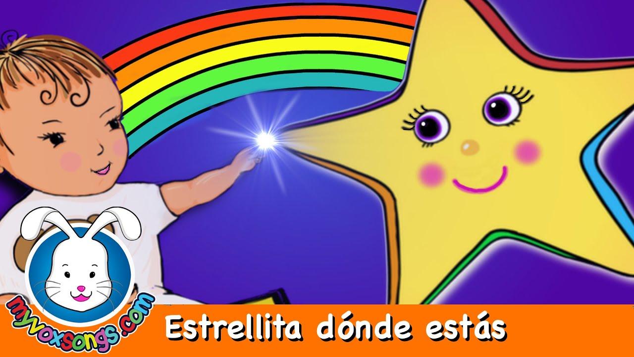 estrellita-donde-estas-con-letra-cantado-en-espanol-twinkle-twinkle-in-spanish-myvoxsongs-nursery-rhymes