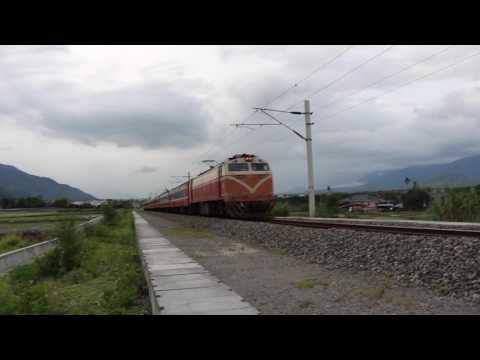 The Taiwan Railway Test Series In Taitung Line