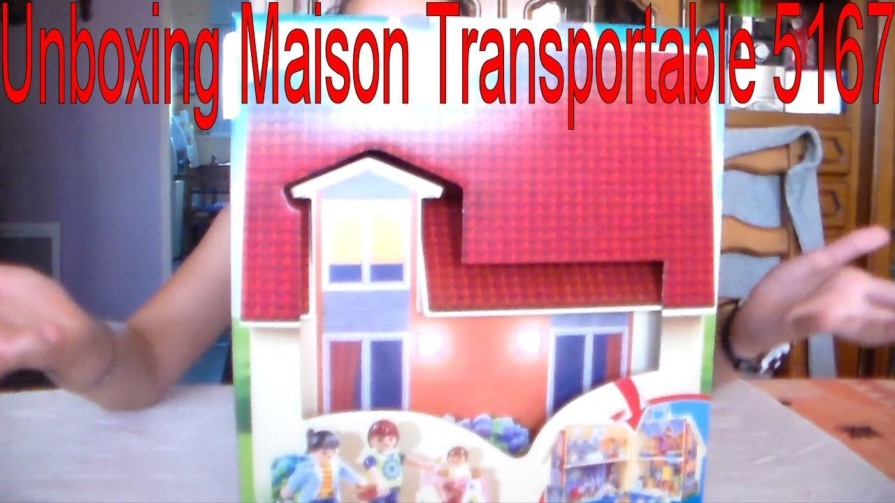 playmobil unboxing maison transportable 5167 youtube. Black Bedroom Furniture Sets. Home Design Ideas