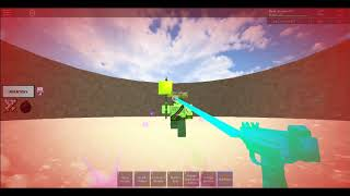 Roblox Craftwars| Death Bow VS Sky Pistol