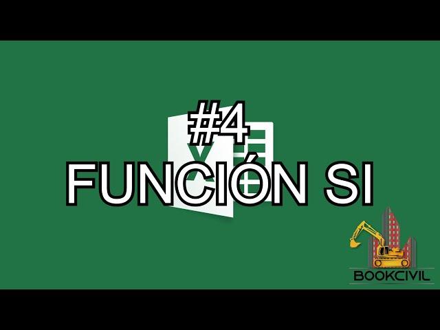 Curso de Excel - #4 Función SI