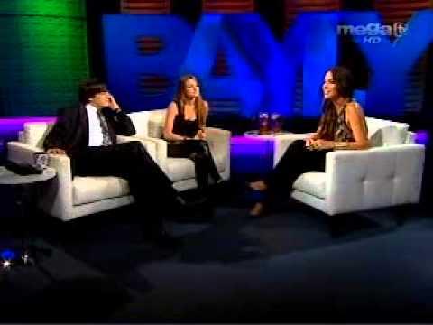 Jaime y Silvia entrevistan a Amelia Vega  10 28 11