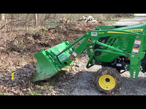 Repeat LET THERE BE LIGHT ON THE JOHN DEERE 1025R VERY