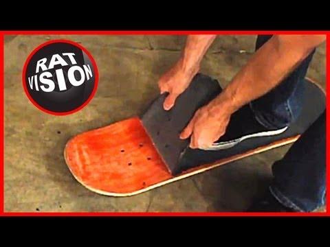 Remove Skateboard & Longboard Grip Tape