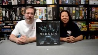 Unboxing of Nemesis by Awaken Realms