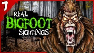 7 Most HORRIFYING Bigfoot Sightings | Darkness Prevails