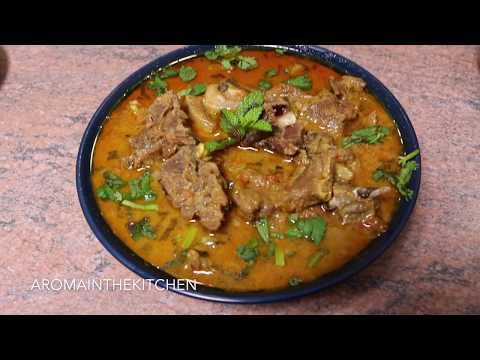 Goat Meat Curry With Coconut Milk - Indian Curry recipe |  Aroma in the Kitchen