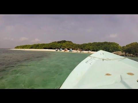Snorkeling at Pigeon Island Sri Lanka 1080P