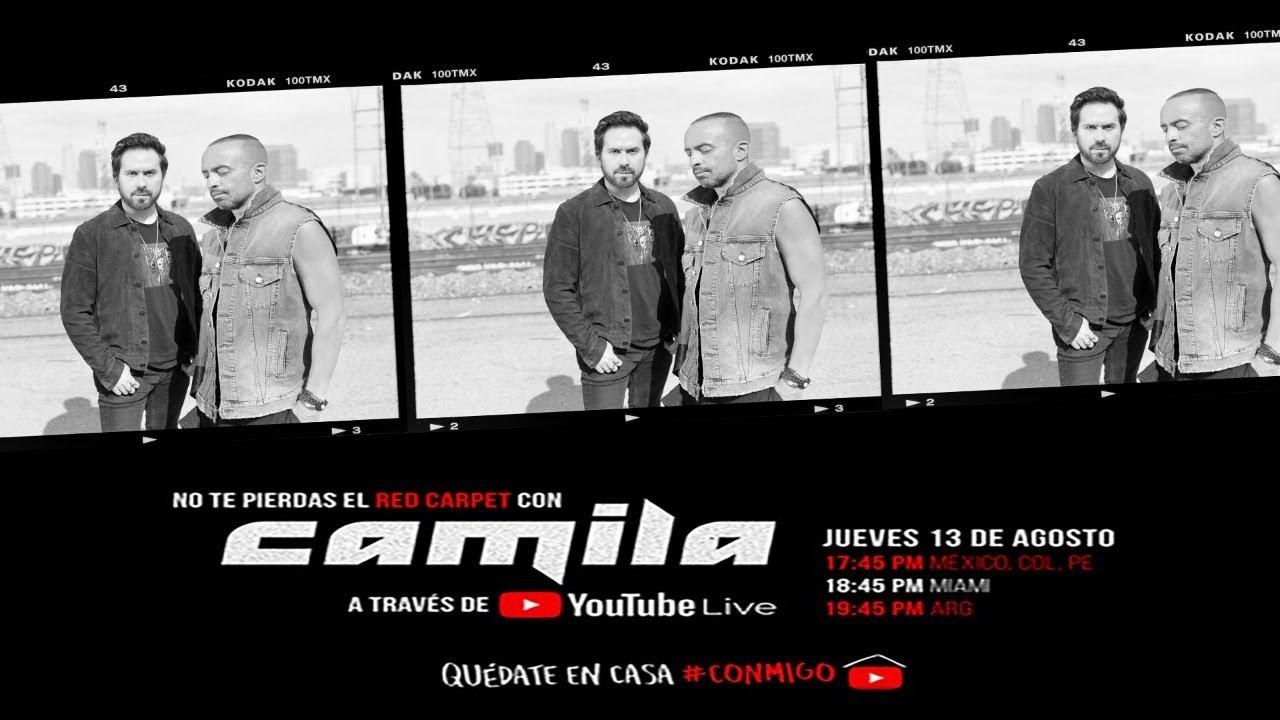 Camila -  Bandera Blanca (Live Red Carpet)
