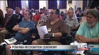 Ceremony pays tribute to POW/MIA