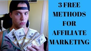 3 FREE Ways To Make A FULL TIME INCOME Affiliate Marketing (Affiliate Marketing Case Study #1)