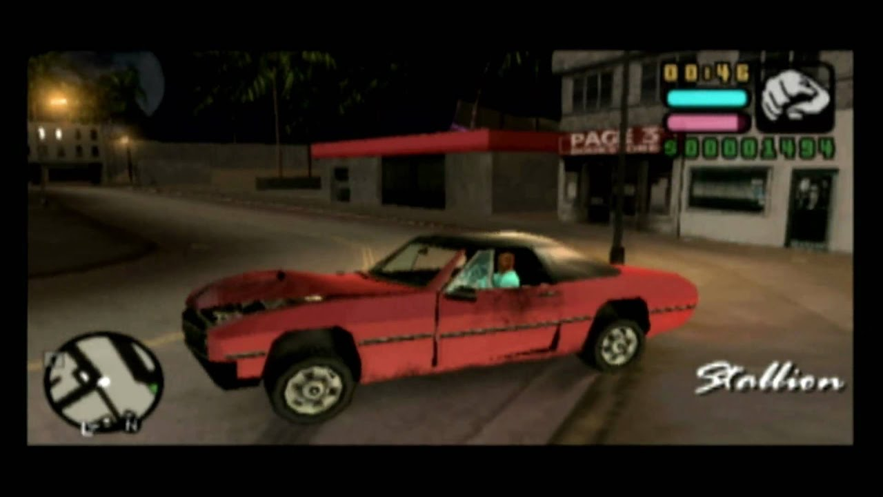 Classic Game Room GRAND THEFT AUTO VICE CITY STORIES for PSP