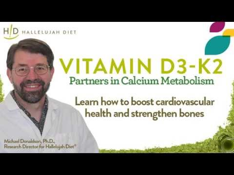 Vitamin D3 with K2 Webinar with Dr  Donaldson - Nov 03, 2015