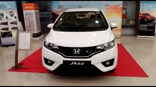 All New Honda Jazz White Color 2016 - 2017 At Showroom | india