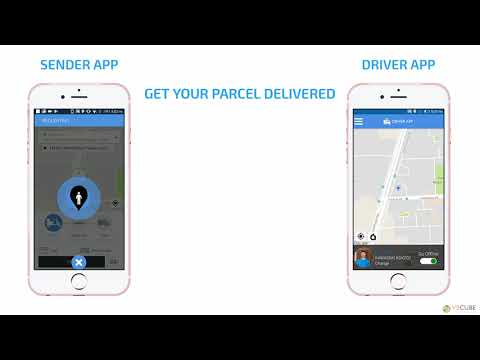 Uber like On Demand Delivery App - Jan 2018 - V3Cube.com