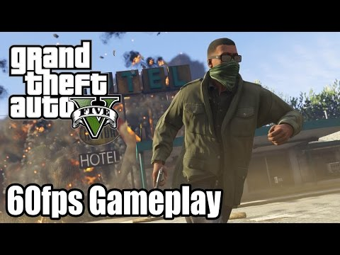 Grand Theft Auto V - 60fps PS4 Gameplay Trailer [1080p] TRUE-HD QUALITY