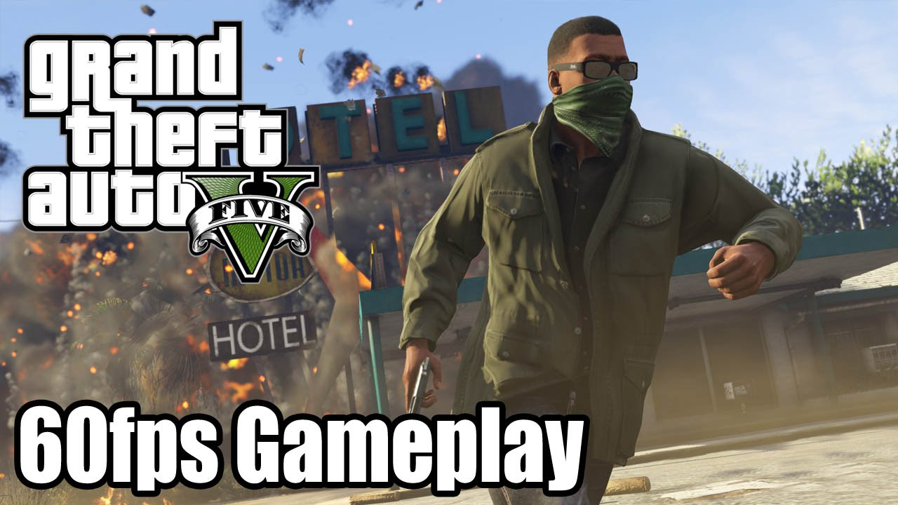 Grand Theft Auto V 60fps Ps4 Gameplay Trailer 1080p