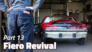Simple Steps for a Great Rear End | 1985 Pontiac Fiero 2M4 Revival - Part 13