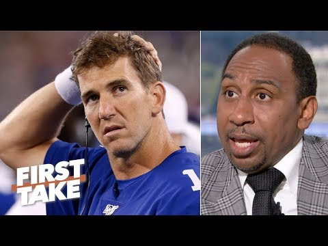 It's too early for a Giants QB competition – Stephen A. | First Take