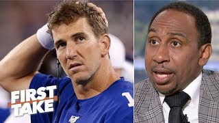 It's too early for a Giants QB competition - Stephen A. | First Take