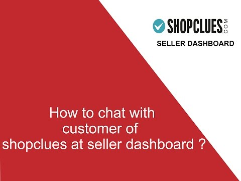 How to chat with customer at seller Dashboard ?