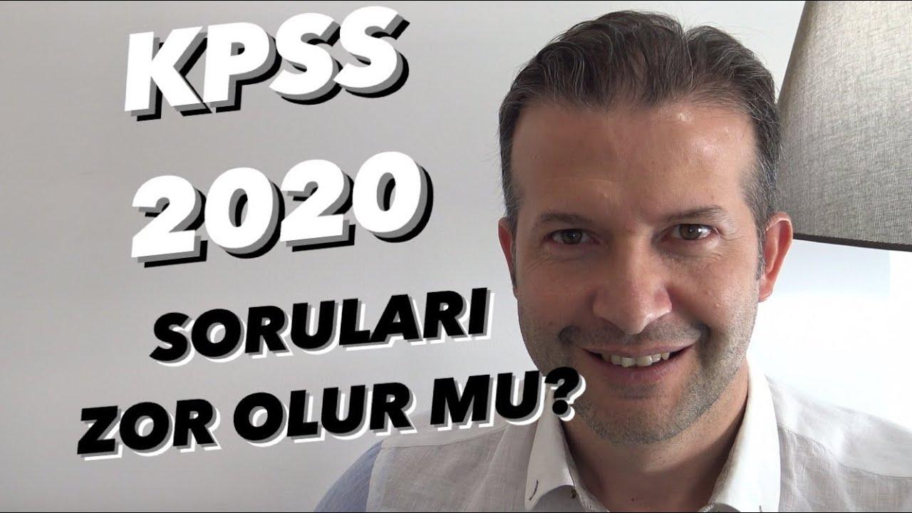 KPSS 2020 de Sorular Nasıl Gelecek? #Kpss
