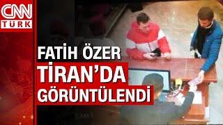 Firari Thodex kurucusu Faruk Fatih Özer Tiran'da görüntülendi
