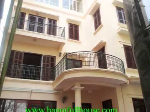 Beautiful villa with swimming pool for lease in Tay Ho dist, Ha Noi