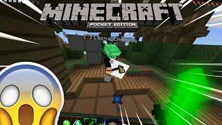 MATEI O LESMACHAPADA FAKE !! - Skywars Minecraft PE ft RISONHO ™ ‹ Rique :3 ›