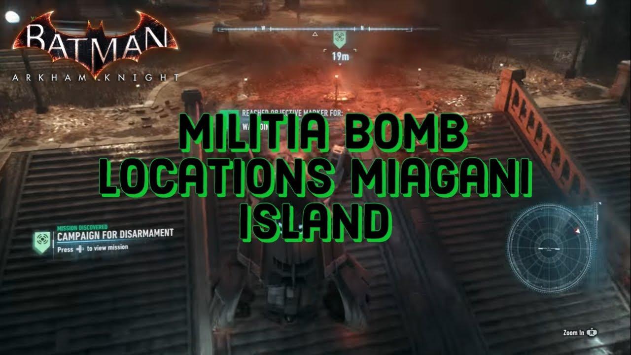 Batman Arkham Knight Last Bomb Location Bleake Island