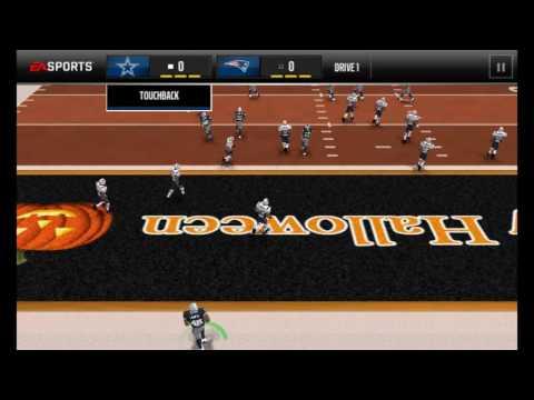 Madden Mobile Tony Dorsett Gameplay League vs League Tournament