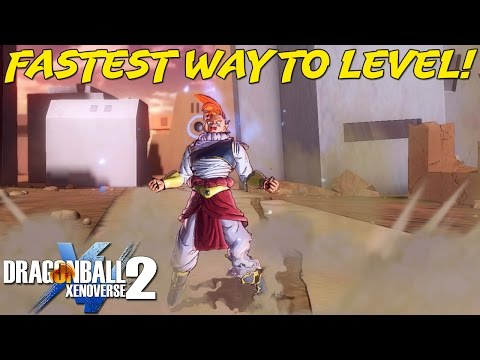 Easiest & Fastest Way To Level Up In Dragon Ball Xenoverse 2!