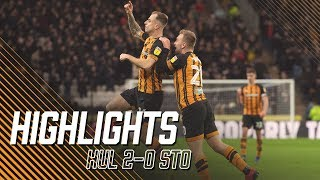 Hull City 2-0 Stoke City | Highlights | Sky Bet Championship