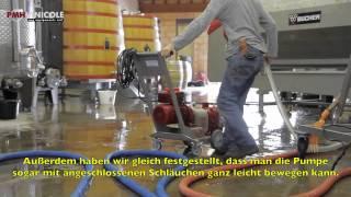 OENOPOMPE® - neue Weinpumpe (Innovation 2009)