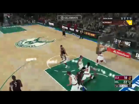 Nba 2k18 Career Milwaukee Bucks vs Cleveland Cavaliers   [SU