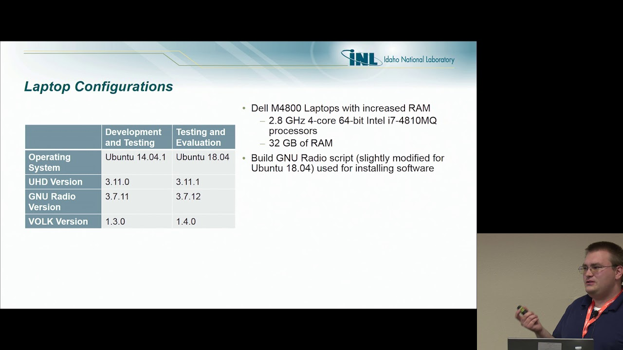 GRCon18 - GNU Radio for Real time Wireless Signal Classification