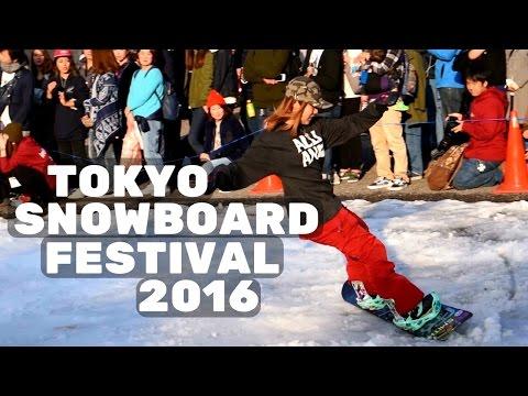 Snowboarding In Tokyo! Japan Vlog