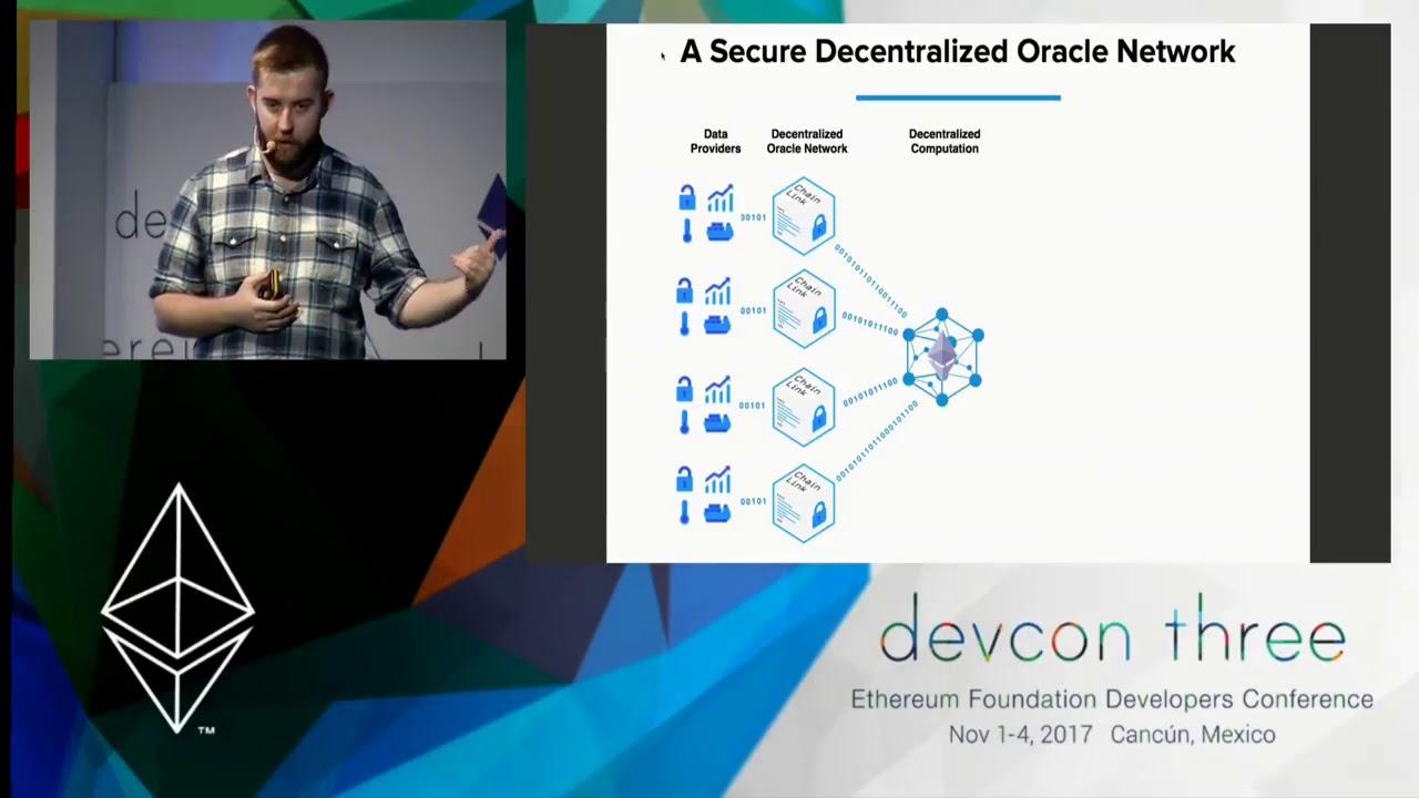Sergey Nazarov (SmartContract, ChainLink) @ Devcon3, November 3, 2017