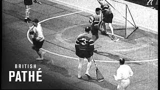 """Box Lacrosse Is A """"Stunning"""" Game (1932)"""
